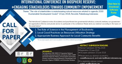 International Conference on Biosphere Reserve