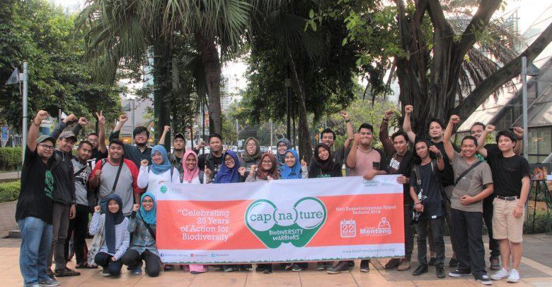 Biodiversity Warriors Geledah Ragam Hayati Serentak di Delapan Kota