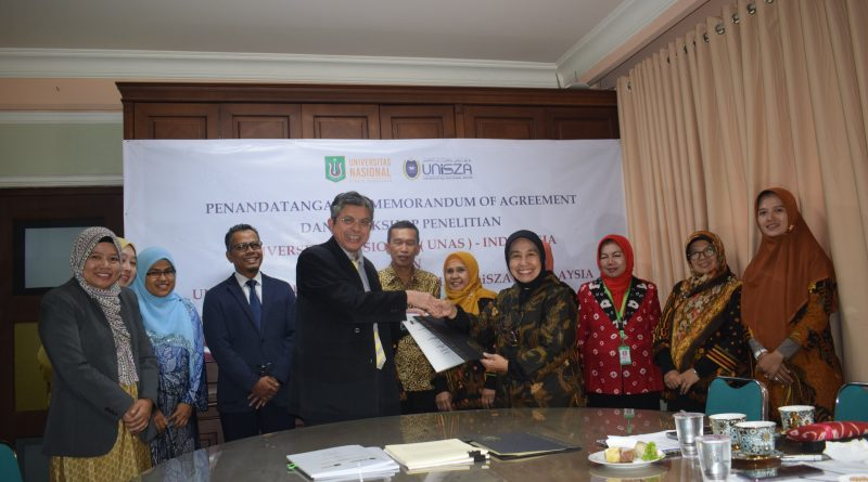 Gandeng UniSZA Malaysia, UNAS Perkuat Kerjasama di Bidang Penelitian dan Workshop