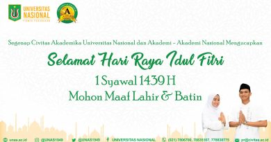 Selamat Hari Raya Idul Fitri 1 Syawal 1439 H