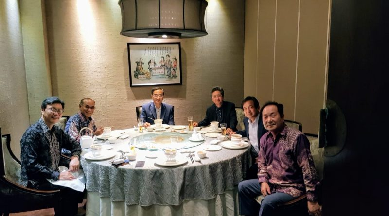 Rektor UNAS Hadiri Undangan Korean Ambassador, Mr. Kim Chang-Beom