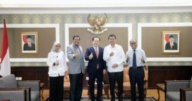 Audiensi Rektor UNAS dengan Menteri PAN RB RI
