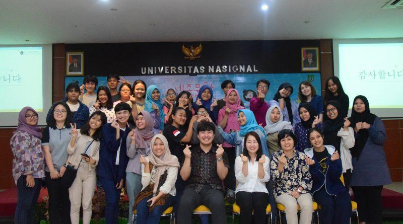 Melalui Kerjasama UNAS-KSI, Mahasiswa Dapat Belajar Kebudayaan Korea