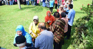 Tingkatkan Silaturahmi dan Kinerja Dosen dan Karyawan, UNAS Gelar Halal Bihalal