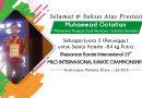 Prestasi Mahasiswa UNAS dalam Kejuaraan Karate Internasional