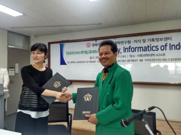 Joint Lecturing dengan Kyungpook National University (KNU) Korea Selatan