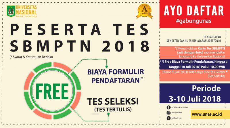 pesertaTesSBMPTN2018-FreeFormulir