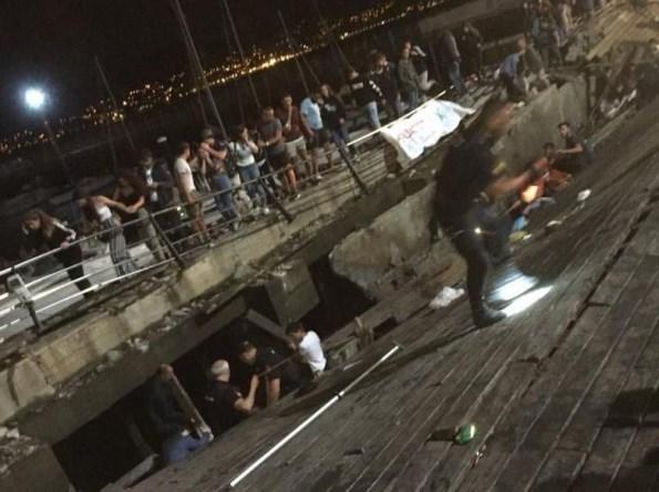 Dermaga Ambruk di Spanyol, 266 Orang Alami Luka-luka