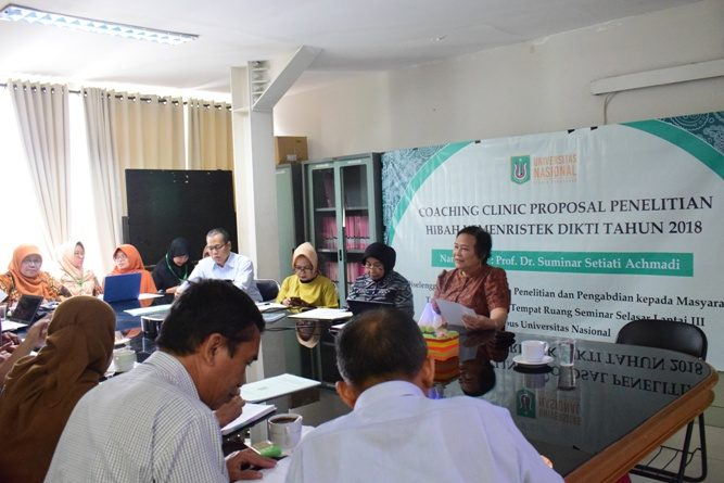 Coaching Clinic Proposal Penelitian Hibah Kemenristek Dikti Tahun 2019 (14)