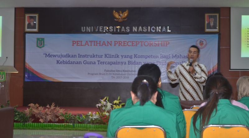 Pelatihan Precetorship