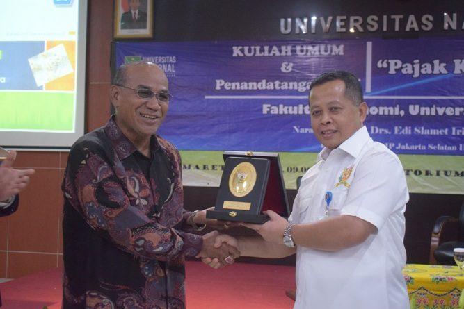 Fakultas Ekonomi Gelar Seminar pajak (11)
