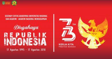 Dirgahayu Republik Indonesia Ke-73