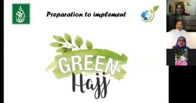 Ketua PPI UNAS Jadi Narasumber dalam Webinar Green Hajj Lintas Negara