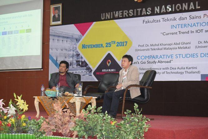 moderator dan pembicara