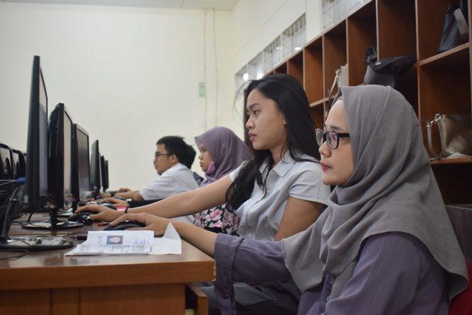 CAMABA Ikuti Ujian Tes Masuk UNAS (4)
