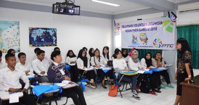 UNAS Fasilitasi Pelatihan Relawan Asian Para Games 2018