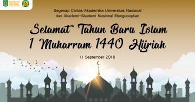 Selamat Tahun Baru Islam 1 Muharram 1440 Hijriah