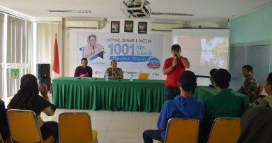 Pusat Inkubator Wirausaha Mandiri UNAS Ajak Mahasiswa Berbisnis di Era Milenial
