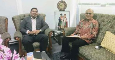 Kunjungan Menteri Penasihat (Pendidikan) Kedubes Malaysia di Indonesia Ke UNAS