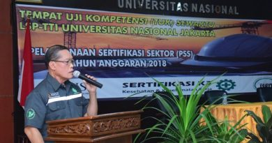 Pelaksanaan Sertifikasi Sektor (PSS) di UNAS (7)