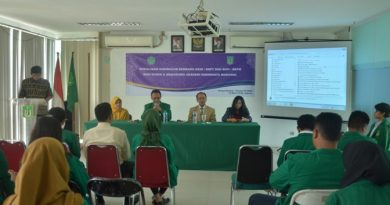 Sosialisasi kurikulum berbasis KKNI, SNPT & SKPI, SKPM Bagi Dosen & Mahasiswa AKPARNAS (7)