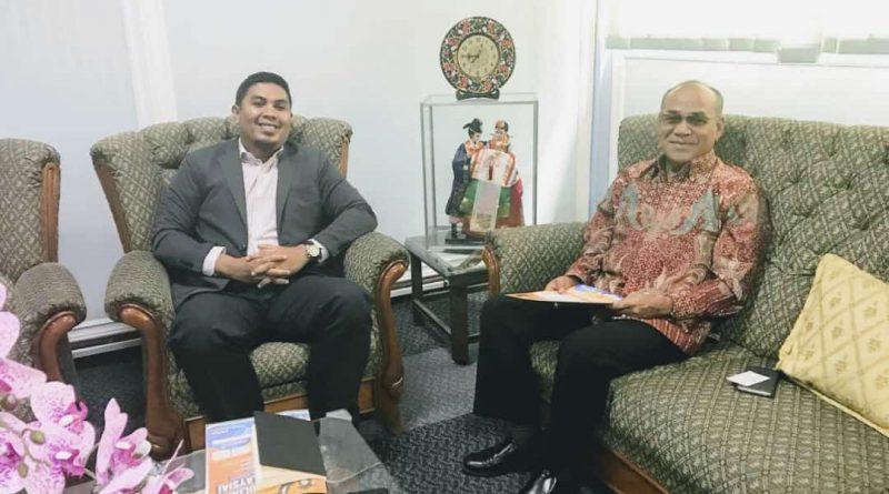 Kunjungann Menteri Penasihat Pendidikan Kedutaan Besar Malaysia, Jakarta ke UNAS