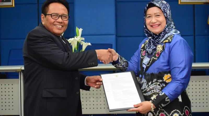 Universitas Nasional Kukuhkan Guru Besar Baru