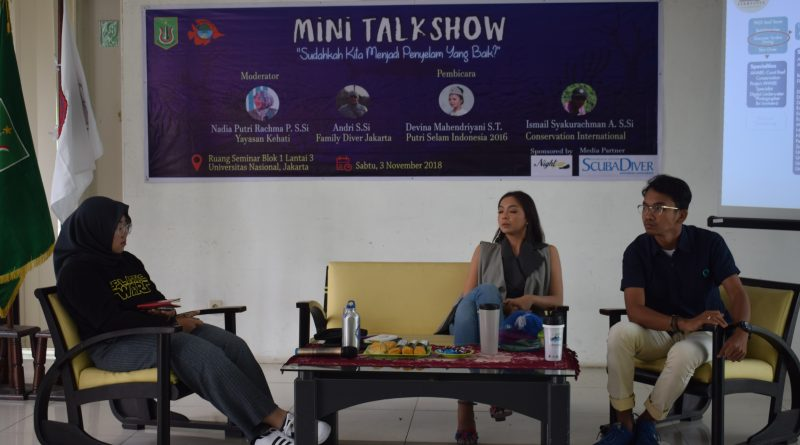 Biologi Gelar Mini Talk Show tentang Penyelaman (14)