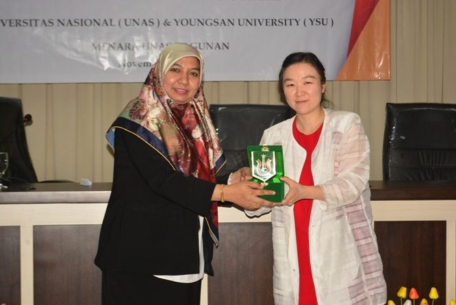 Dissemination On Double Degree Program UNAS & YOUNGSAN UNIVERSITY-KORSEL (9)