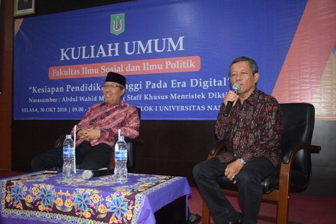 Fisip Adakan Kuliah Umum Kesiapan Perguruan Tinggi Pada Era Digital (9)