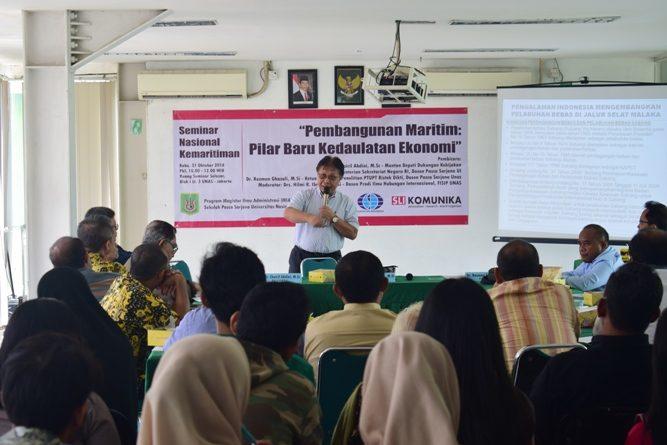 Seminar Kemaritiman Nasional di UNAS (5)