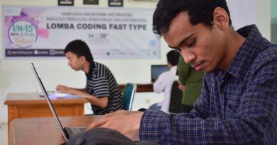"Lomba Coding Fast ""UNAS Digital & Cultural Festival"""