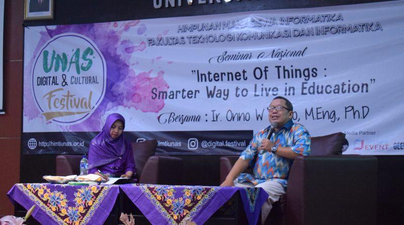 Onno W Purbo : Tingkatkan Kualitas SDM Pengajar Yang Paham IoT