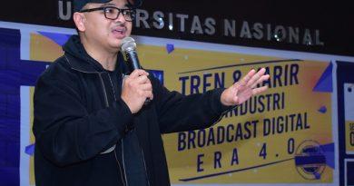 Talkshow Broadcast Digital Era 4.0, Hadirkan Producer VoA Amerika
