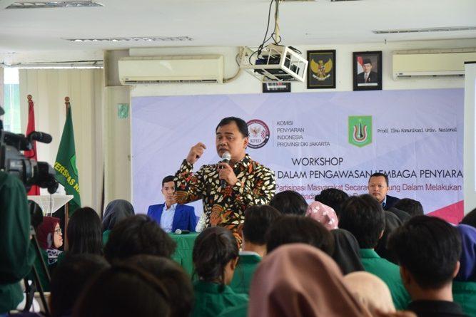 Prodi ILKOM – KPID Bersinergi, Ajak Mahasiswa Kawal Penyiaran Indonesia