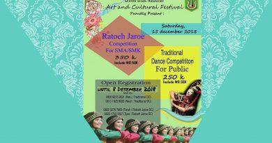 Universitas Nasional Art and Cultural Festival