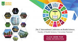 THE 1<sup>ST</sup> INTERNATIONAL CONFERENCE On HEALTH SCIENCES
