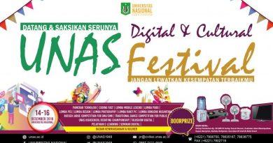Let's Join Us on UNAS Digital & Cultural Festival