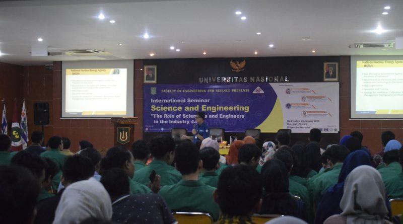 Hadapi Revolusi Industri 4.0, FTS Ajak Mahasiswa Dalami Peran Ilmuwan dan Insinyur