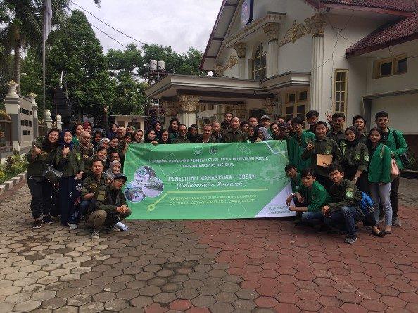 Maksimalkan Potensi Kampung, Mahasiswa Administrasi Publik Lakukan Penelitian dan Kunjungan Akademik
