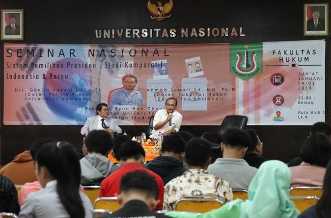 Menilik Sistem Pemilihan Umum Indonesia – Korea Selatan, Melalui Seminar Nasional FH