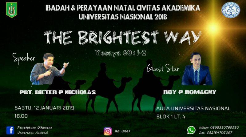 Ibadah & Perayaan Natal Civitas Akademika UNAS 2018