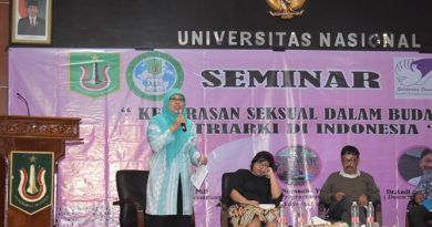 "Seminar ""Kekerasan Seksual Dalam Budaya Patriarki di Indonesia"""