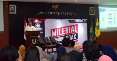 Pemaparan materi oleh keynote speaker Brigjend Pol. Dr.M. Fadil Imran, M.Si