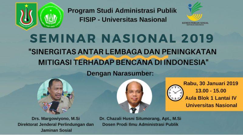 Seminar Nasional 2019 (Administrasi Publik)
