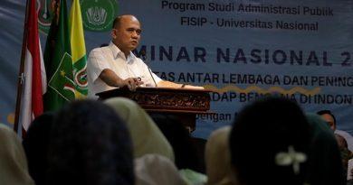 """Seminar Nasional Administrasi Publik 2019 """"Sinergitas Antar Lembaga dan Peningkatan Mitigasi Terhadap Bencana di Indonesia"""""""