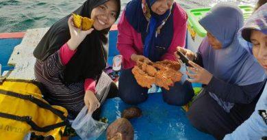 Penelitian Bioprospeksi Dosen dan Mahasiswa Fakultas Biologi di Pulau Seribu (10)