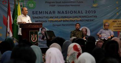 Seminar Administrasi Publik : Perlu Sinergi Antar Lembaga Dan Kesadaran Masyarakat Dalam Penanggulangan Bencana