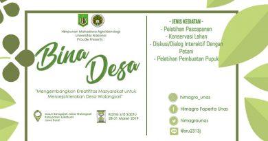 Bina Desa (Himpunan Mahasiswa Agroteknologi)