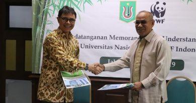 Demi Mewujudkan Pendidikan untuk Pembangunan Berkelanjutan dan Konservasi Alam Indonesia, WWF-Indonesia Jalin Kerjasama dengan Universitas Nasional